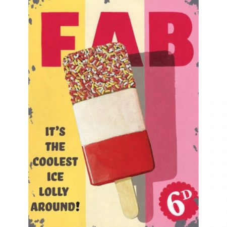 The Original Metal Sign Company Fab lolly