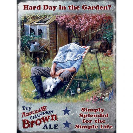 The Original Metal Sign Company Head Gardener