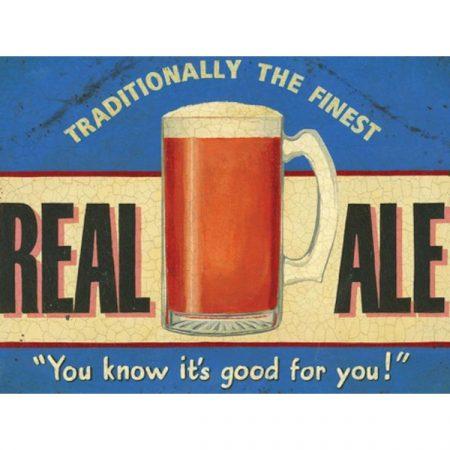 The Original Metal Sign Company Real Ale