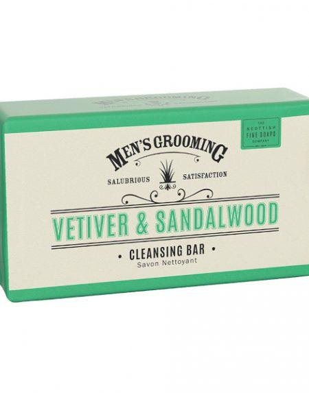 Scottish Fine Soaps Vetiver and Sandalwood Cleansing Bar