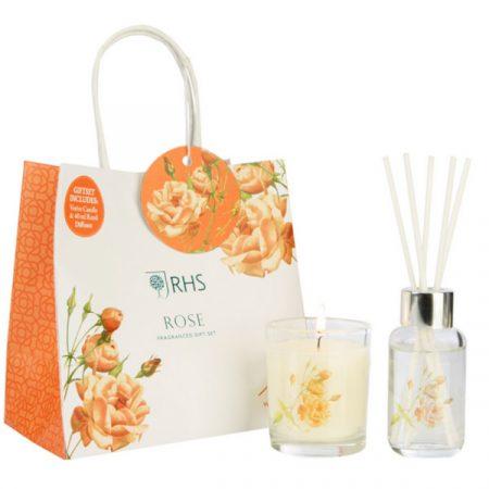Wax Lyrical Gift Set Rose