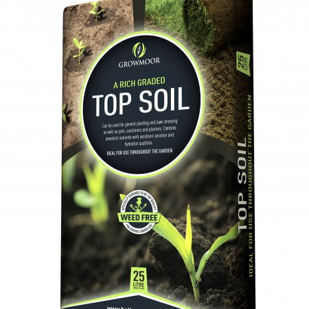 Growmoor 25L Top Soil