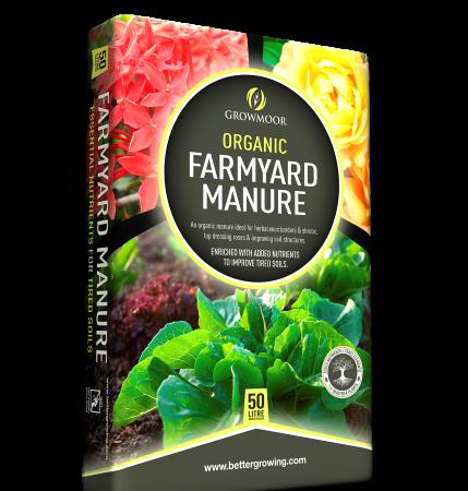 Growmoor 50L Farmyard Manure
