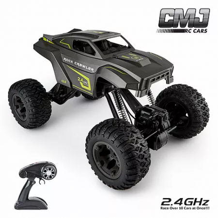 Monster Truck Adjustable Chassis Grey