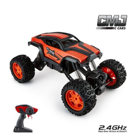 Monster Truck Adjustable Chassis Orange