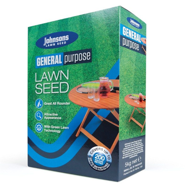 Johnsons General Lawn Seed 5kg