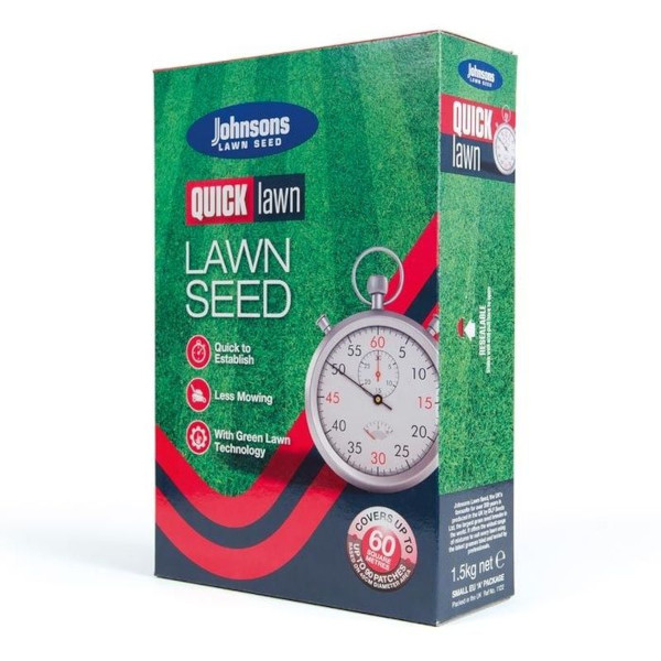 Johnsons Quick Lawn Seed 1.5kg