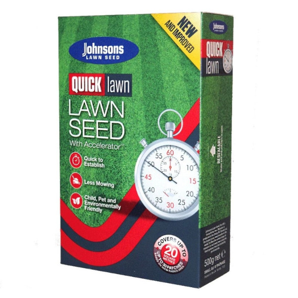 Johnsons Quick Lawn Seed 500g