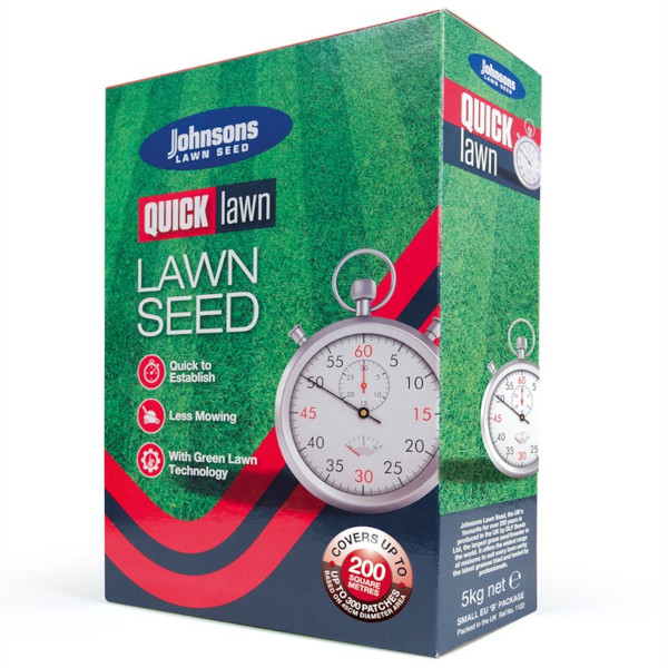 Johnsons Quick Lawn Seed 5kg