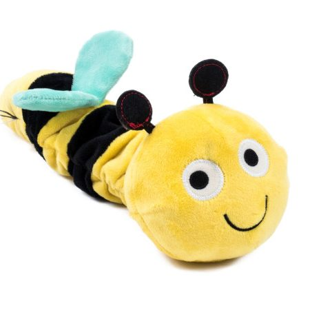 Petface Garden Buddies Bees & Bugs Super Tough Latex & Plush Bert The Bee