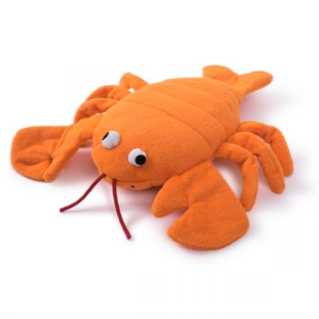 Seriously Strong Super Tough Plush & Rubber Lobster
