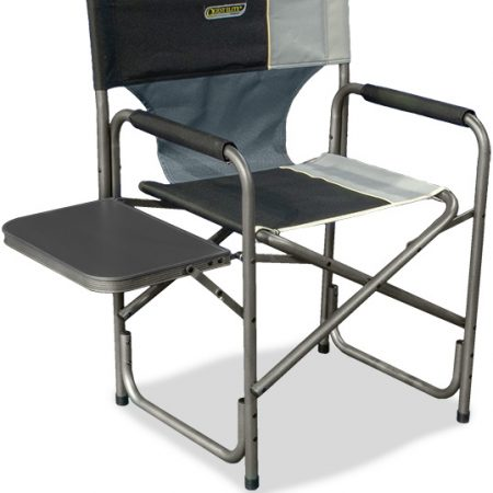 Quest Autograph Surrey Chair in black and grey with side table