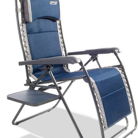 Quest Ragley Pro Blue Relaxer with side table